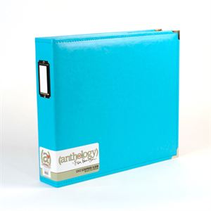 Picture of *50% OFF* Anthology 12 x 12 Album - Aqua *SALE* WHILE SUPPLIES LAST
